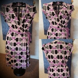 Womens Wrap Style Dress